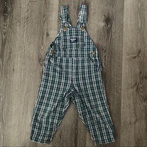 OshKosh B'gosh Vestbak Plaid Overalls